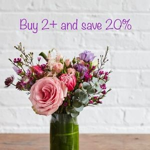 Buy two or more items and get 20% discounts!!